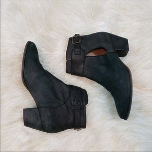 Free People suede bootie